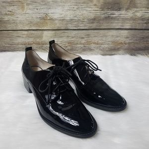 Louise Et Cie Fenn Lace Up Patent Leather Oxford